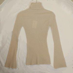 Autumn Cashmere Turtleneck Pullover Sweater Sz XS